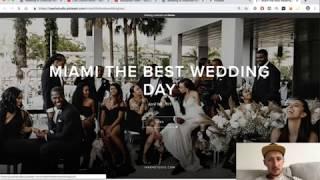 Разбор Афро Американской свадьбы