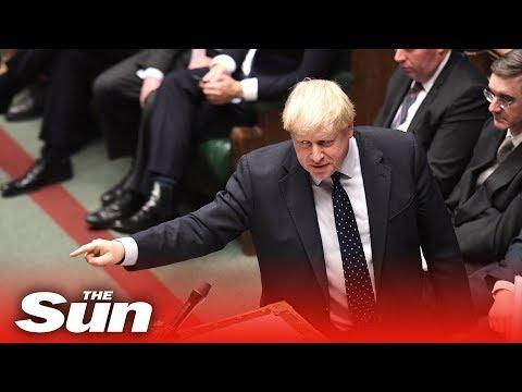 Boris Johnson lays into Corbyn after the Queen's Speech