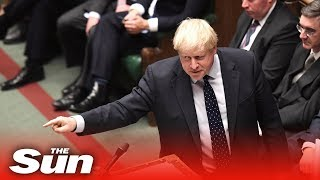 Boris Johnson lays into Corbyn after the Queen's Speech