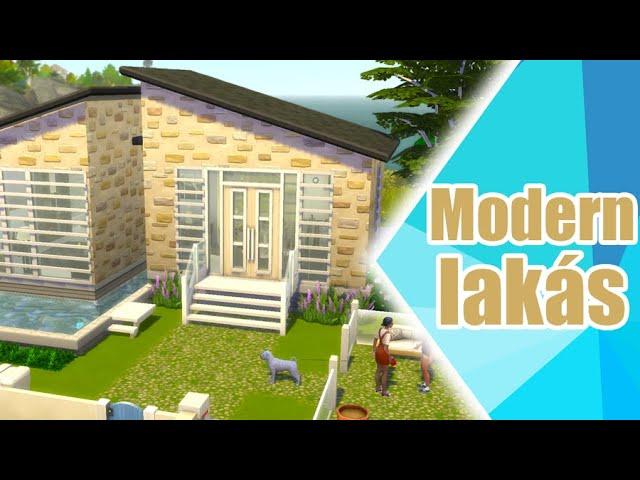Modern ház - The Sims 4 | Speed Build | No CC