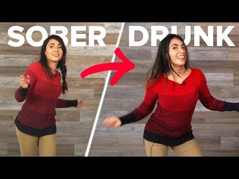 Sober Vs. Drunk Dancing Abilities