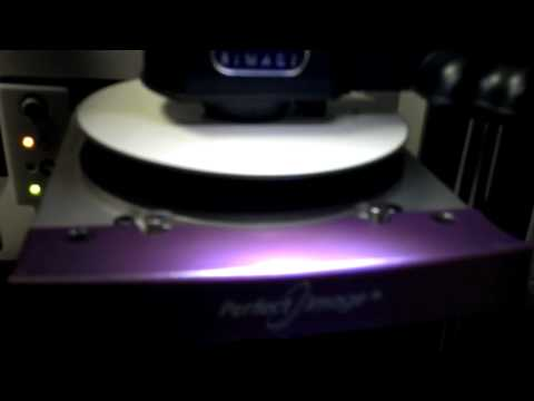 Rimage 7100 check printer alignment