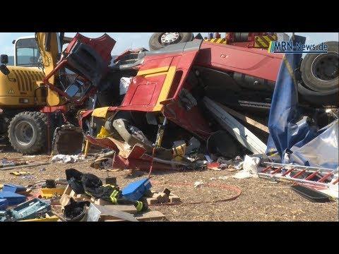 Unfall A65 Neustadt