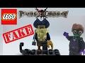 FAKE Lego Davy Jones Minifigure-Pirates of the Caribbean
