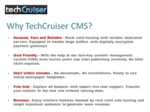 Online Newspaper CMS Software