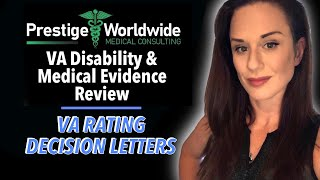VA Rating Decision Letters: Important evidence to review!