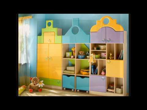 Детская мебель марки Бегемотик. Стенки для детей
