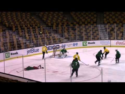 Tuukka Dump at TD Garden March 17, 2016