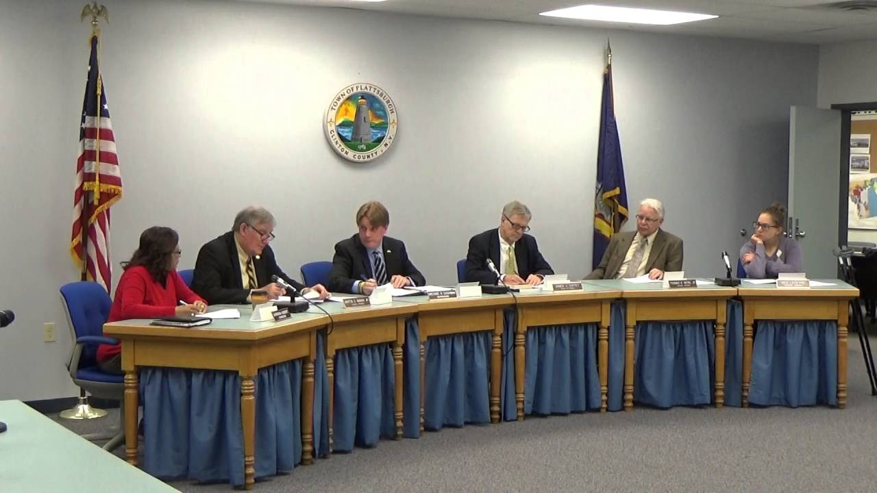 Town of Plattsburgh Meeting  5-2-16