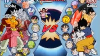 Dragon ball AF Dark Dimension Characters [Ps2]