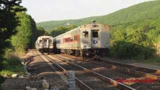 Metro North and Amtrak from Riverdale to Scarborough to Manitou