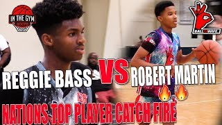 REGGIE BASS vs ROBERT MARTIN Two of the Top 8th Graders in the Nation GO HEAD to HEAD