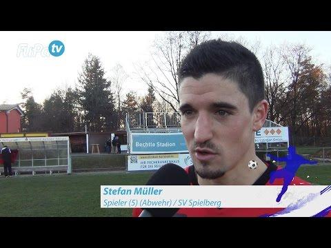 Stefan Müller - SV Spielberg - zum Spiel vs. Neckarsulmer Sport-Union, FuPa.tv-Interview, 3.12.2016