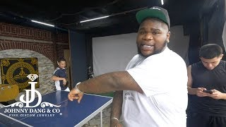 Fat Boy SSE Calls Out Johnny Dang in Intense Ping Pong