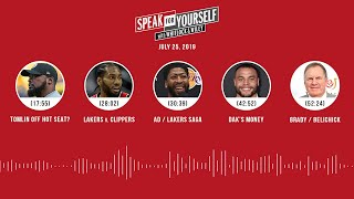 SPEAK FOR YOURSELF Audio Podcast (7.25.19) with Marcellus Wiley, Jason Whitlock | SPEAK FOR YOURSELF