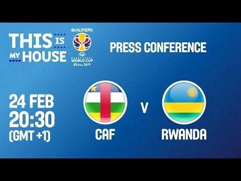 CAF v Rwanda - Press Conference