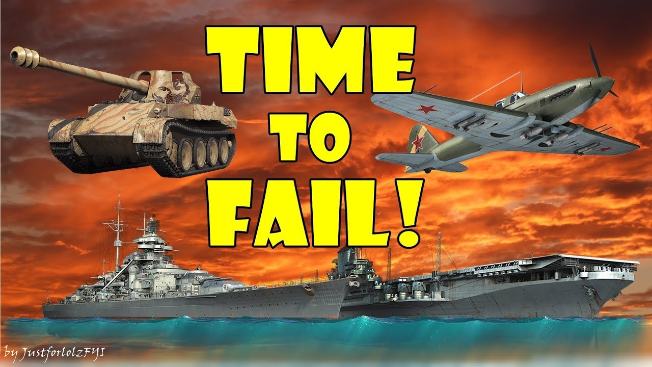 TIME TO FAIL! (Online game fails, humorous moments & epic clips)