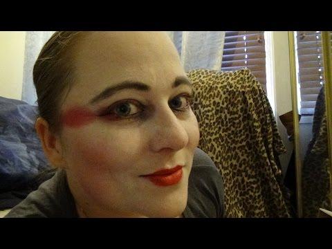 Geisha Make-Up Tutorial-Monster Makeup