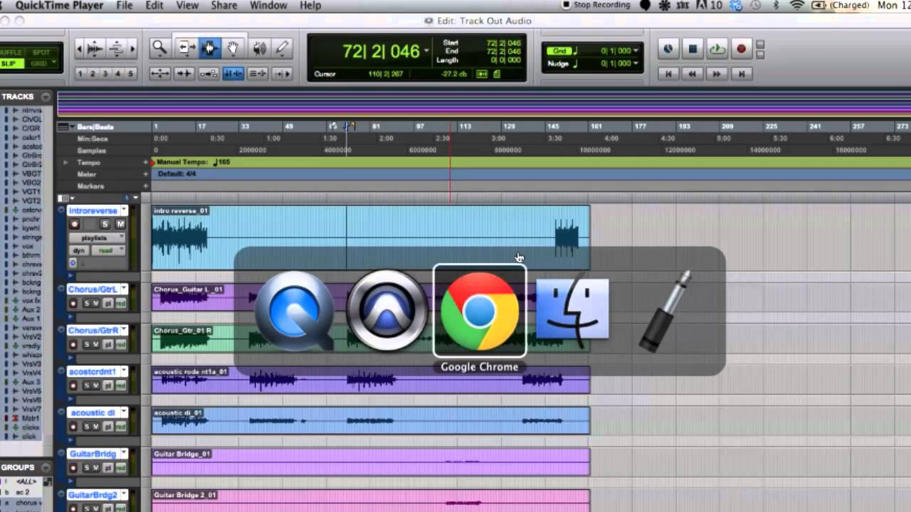 How to prepare stems or audio tracks for mixing in pro tools