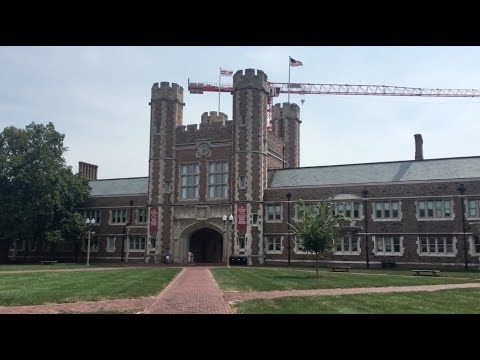 College Dorm Move In at Washington University in St. Louis
