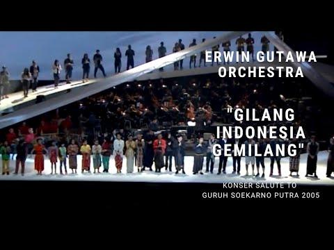 Closing: Gilang Indonesia Gemilang (Konser Erwin Gutawa Salute To Guruh Soekarno Putra 2014)