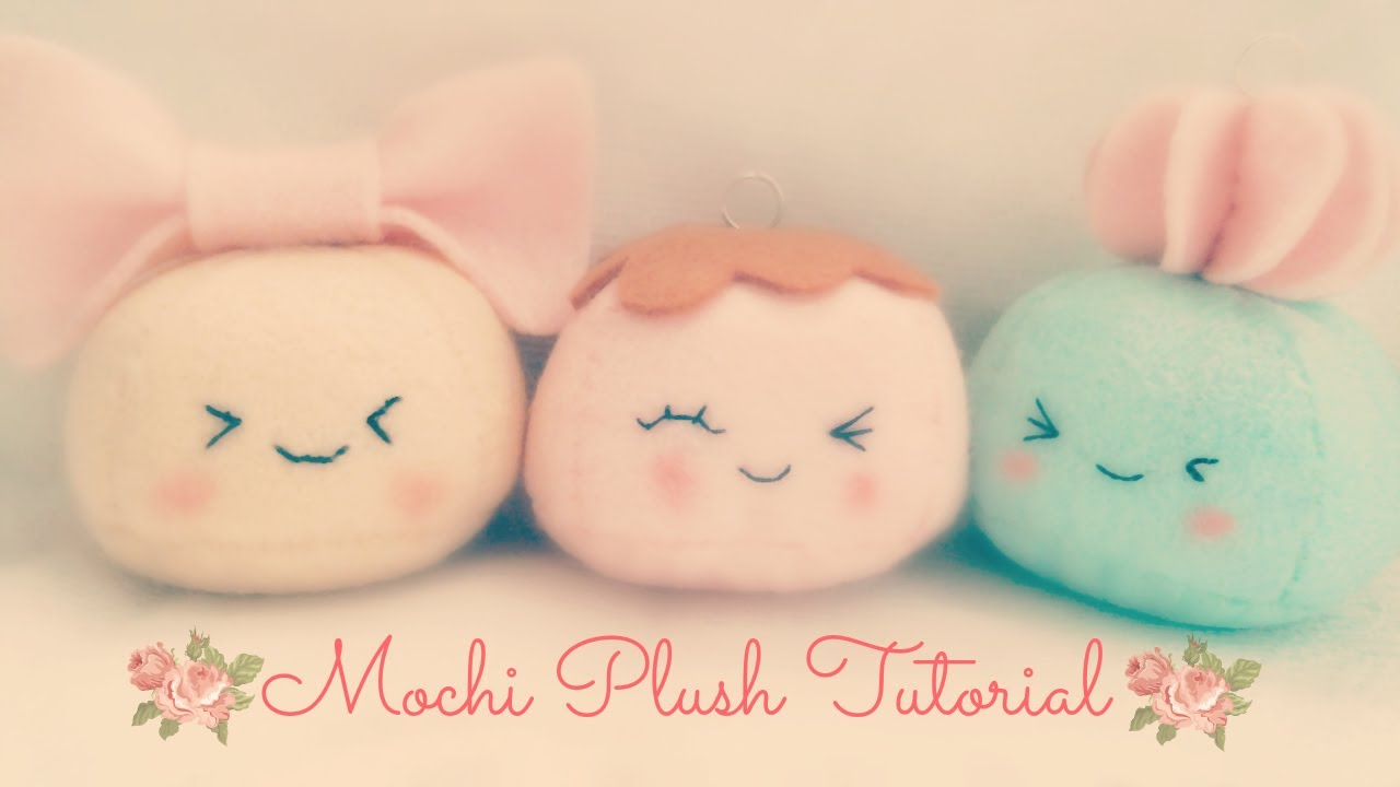 How To Make A Kawaii Mochi Plushie Tutorial YouTube