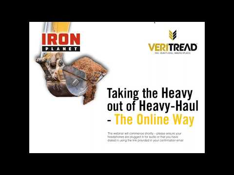 Taking the Heavy out of Heavy Haul - The Online Way