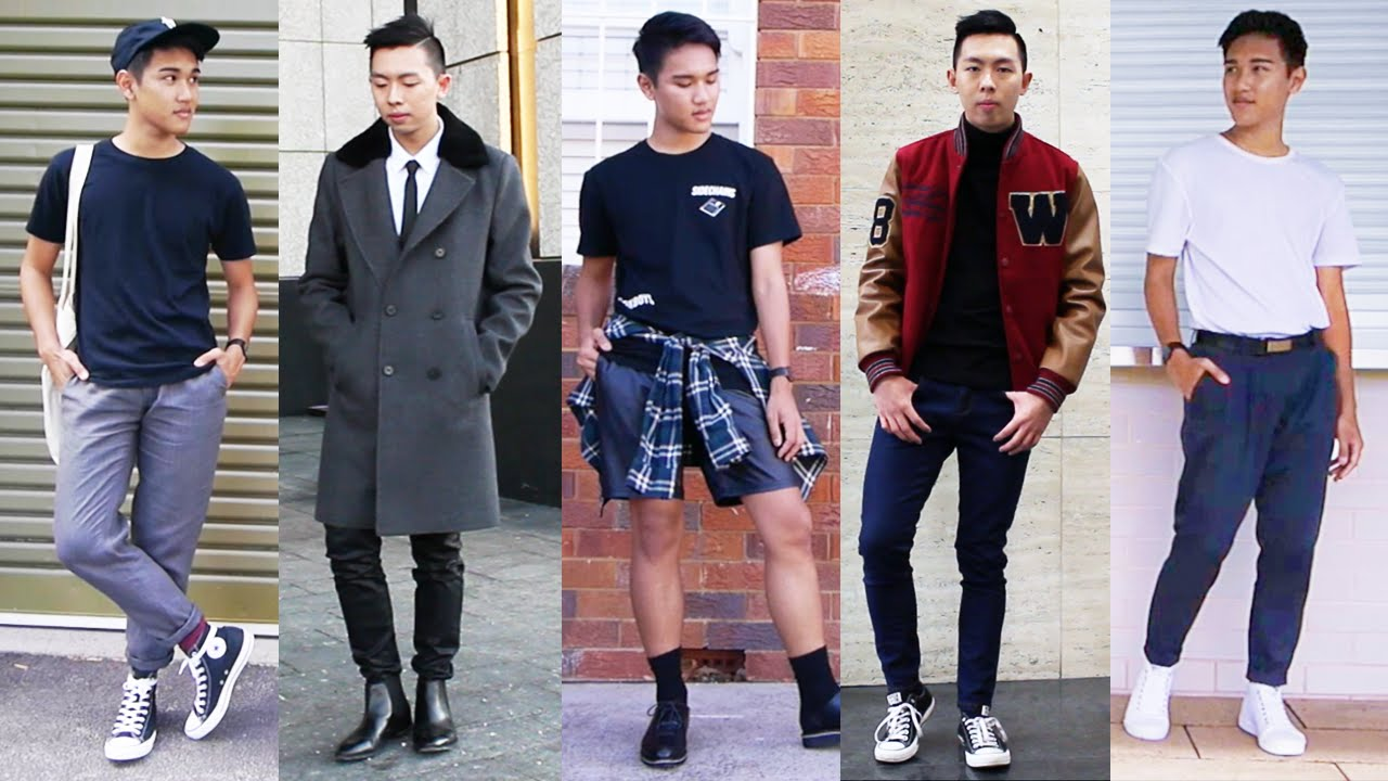 Back To School Outfit Ideas Mens Fashion Style Youtube