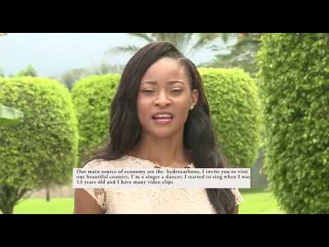 EQUATORIAL GUINEA, Silvia ADJOMO NDONG ADA - Contestant Introduction ( Miss World 2018 )
