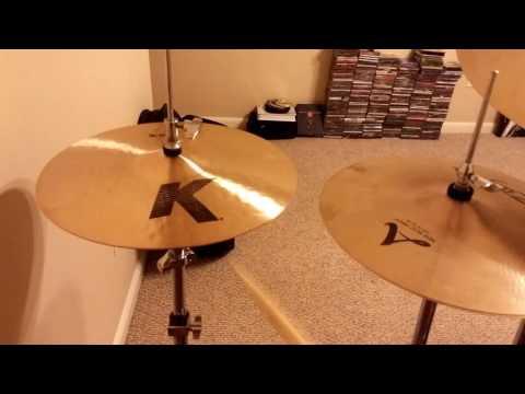 """14"""" K Hi Hat vs 14"""" A New Beat Hi Hat"""