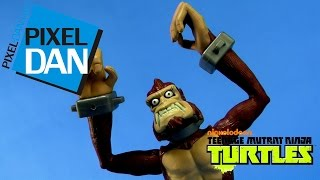 Nickelodeon Teenage Mutant Ninja Turtles Monkey Brains Figure Video Review