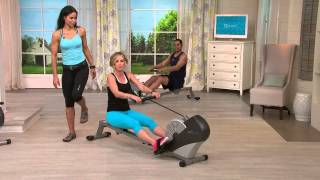Stamina Air Rower 1399 Wind Resistance Rowing Machine with Kerstin Lindquist