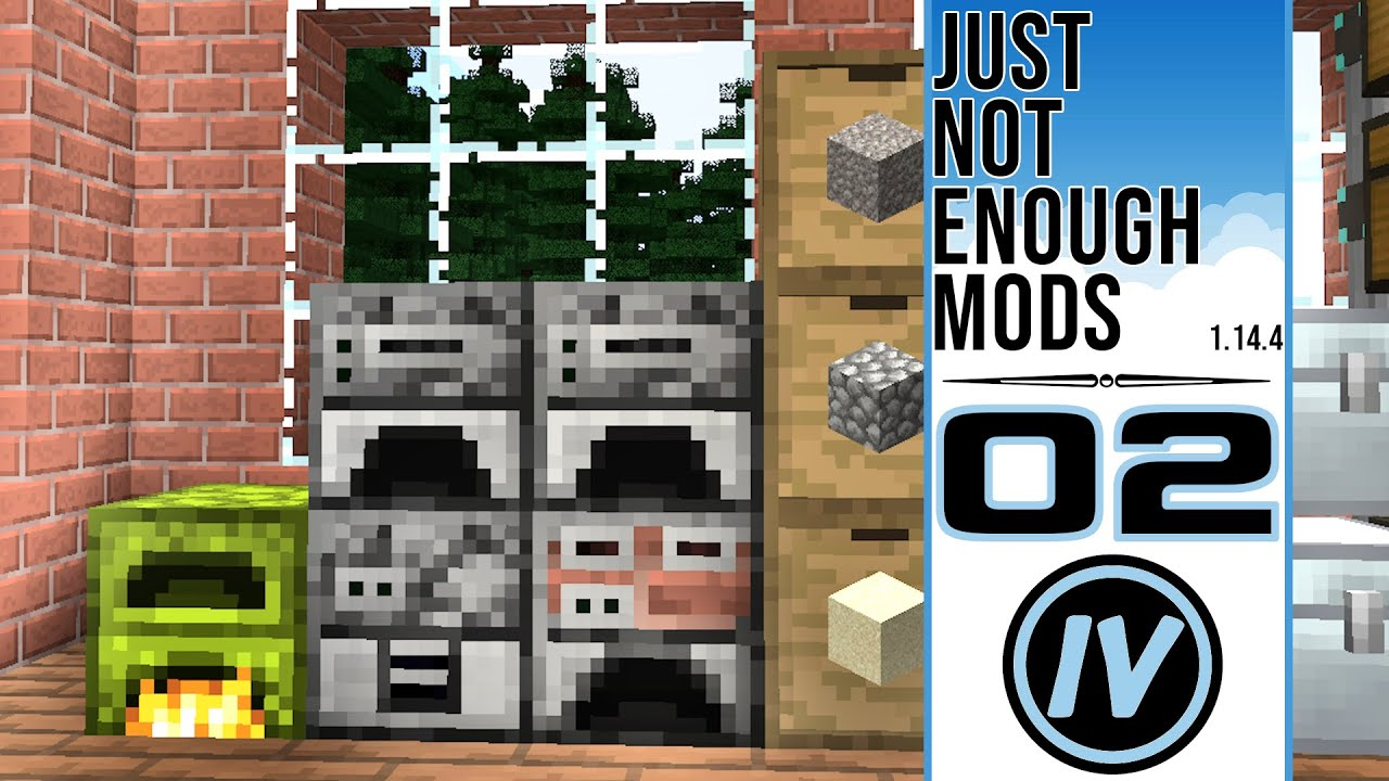 Just Not Enough Mods - Ep 8 - Ore Doubling & Bridge to Nowhere