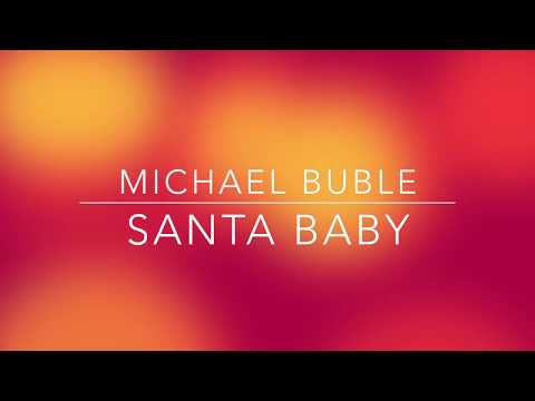 Michael Buble - Santa Baby (LYRICS)