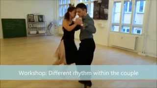 Tango: Different rhythm within the couple