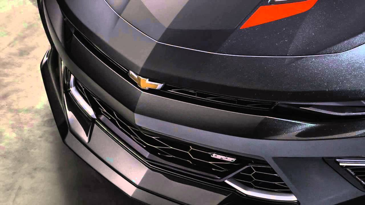 2017 Chevrolet Camaro 50th Anniversary Edition Youtube