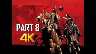 RED DEAD REDEMPTION Gameplay Walkthrough Part 8 - Fund Raising (4K Xbox One X Enhanced)