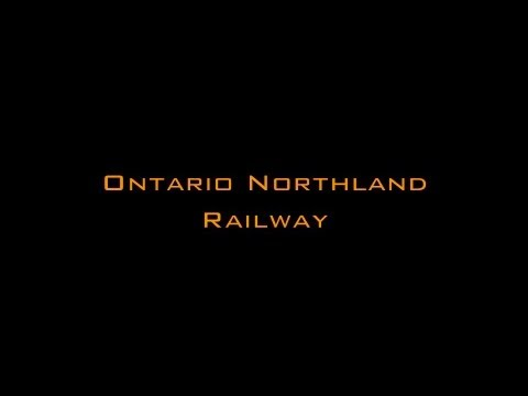 Channel Trailer - Ontario Northland Railway