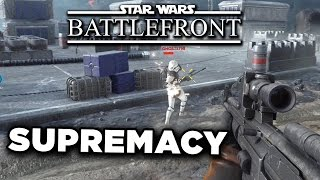 Supremacy Mode Gameplay - Star Wars: Battlefront