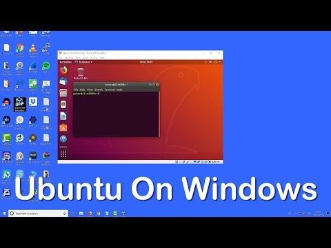How To Install Linux Ubuntu 18.04 LTS On Windows 10