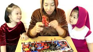 Đồ chơi trẻ em siêu anh hùng 💗 chị Nhi Nhím