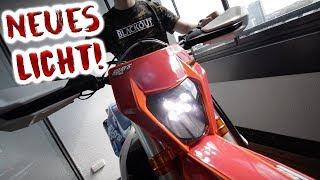 Wir starten das Motorrad in der Wohnung!