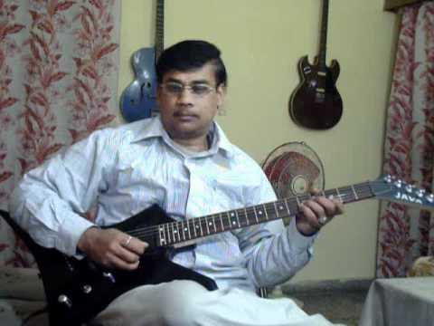 Chala jata hu kisi ki dhun mein on Guitar