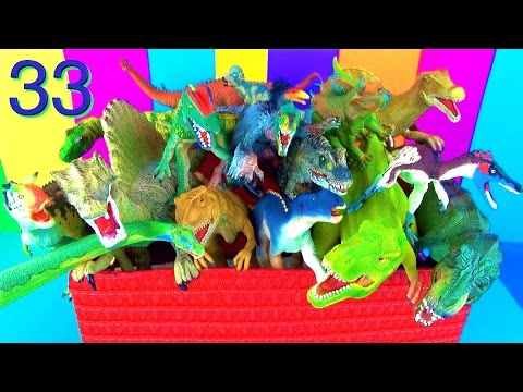 19 Incredible Dinosaurs Toy Collection Kids Toys T rex Spinosaurus Dino