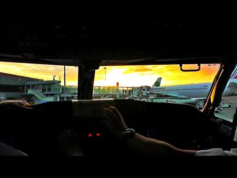 Awesome Jumpseat Take-Off from Toulouse [FullHD]