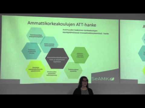 Avoin tiede ja tutkimus ammattikorkeakouluissa - Seliina Päällysaho, Jaana Latvanen