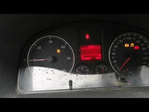 VW Caddy 2008 г.в. 2,0 TDI. Заводится и глохнет.