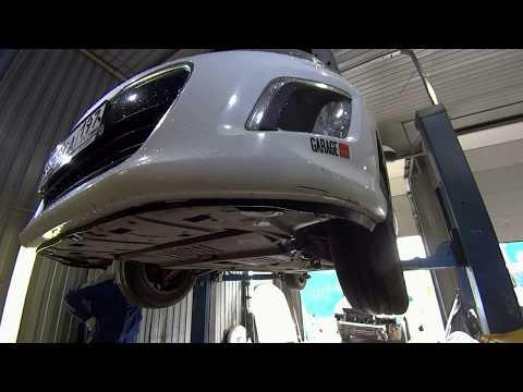 замена масла в АКПП / Peugeot 308 AL4