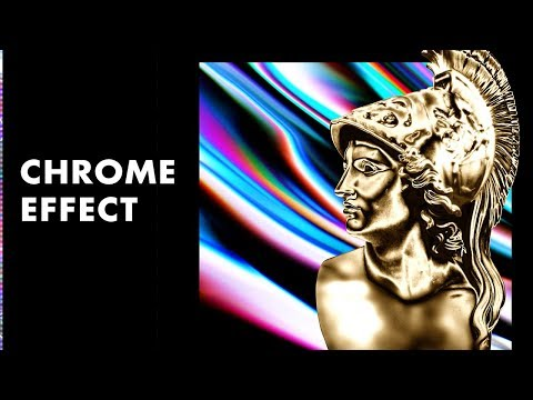 How To Create Chrome Visual Aesthetic In Photoshop