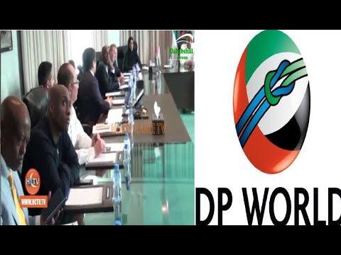 Ganacsatada Somaliland & Shirkadda Dp World Oo Kulan Ku Yeeshay Dubai